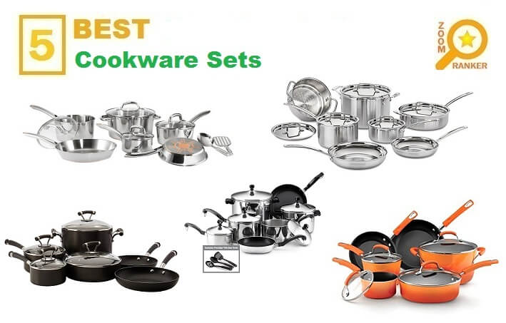 Reviews of the Best Affordable Cookware Sets to Buy 2019