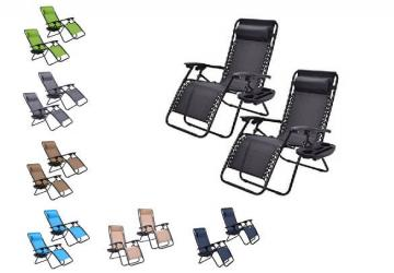 Goplus - Zero Gravity Chairs