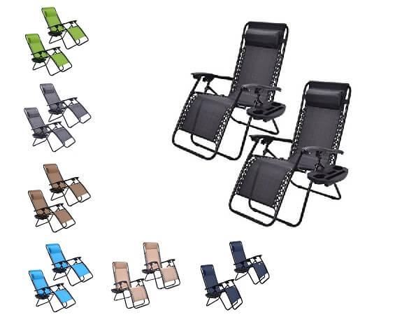 Goplus - Zero Gravity Chairs