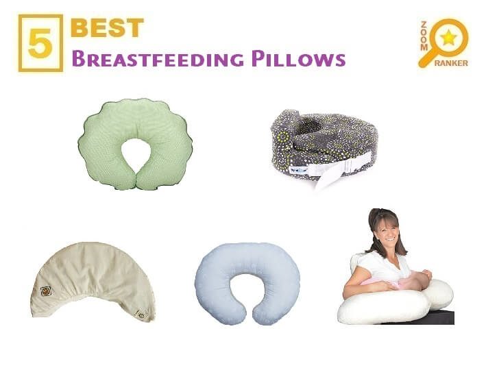 Reviews of the Best Affordable Breastfeeding Pillows to Buy 2019