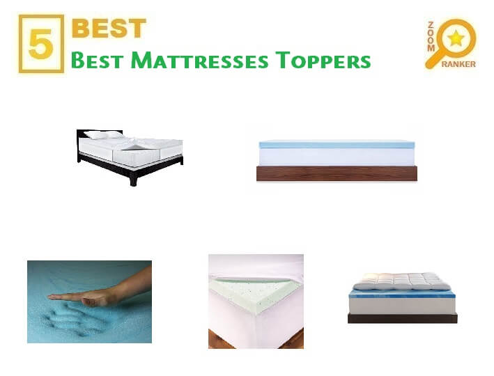 2019 Best Mattress Toppers Zoomranker
