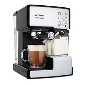 The Mr. Coffee Cafe Barista Espresso Maker with Automatic Milk Frother