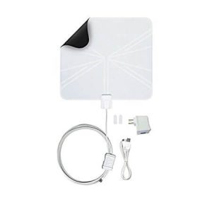 The Winegard FlatWave Amped FL5500A 50 Mile - Best Indoor Antenna for Areas with Poor Reception