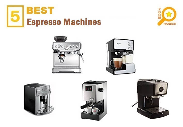 Reviews of the Best Affordable Espresso Machines to Buy 2019