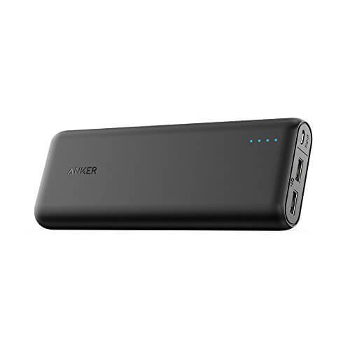 The Anker PowerCore 20100 power bank