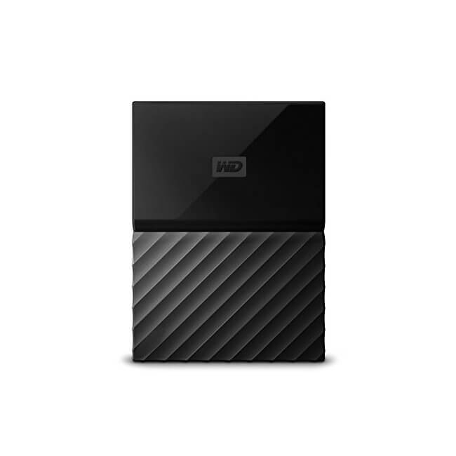 The Western Digital My Passport 4TB Black