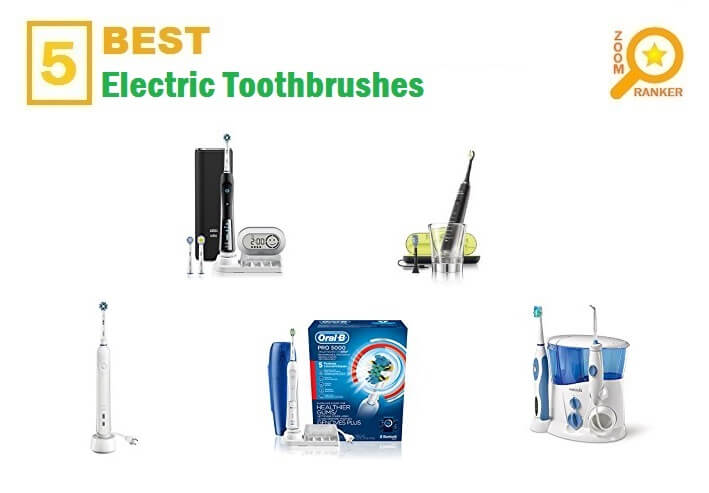 The Best Electric Toothbrushes for 2018 - Electric Toothbrushes Reviews