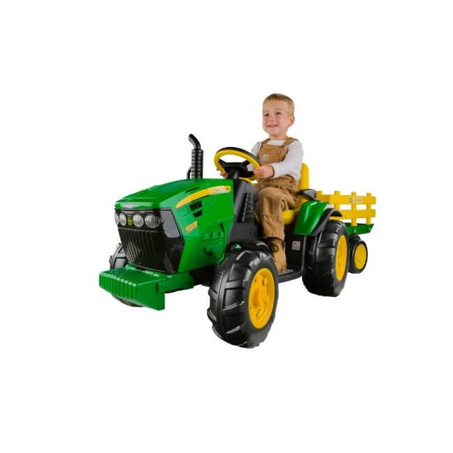 The Peg Perego John Deere Ground Force Tractor