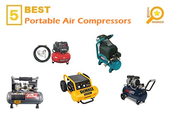 [2019] Best Portable Air Compressors