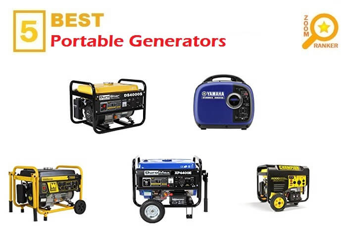 Best Portable Generators 2018 (Updated 2019)