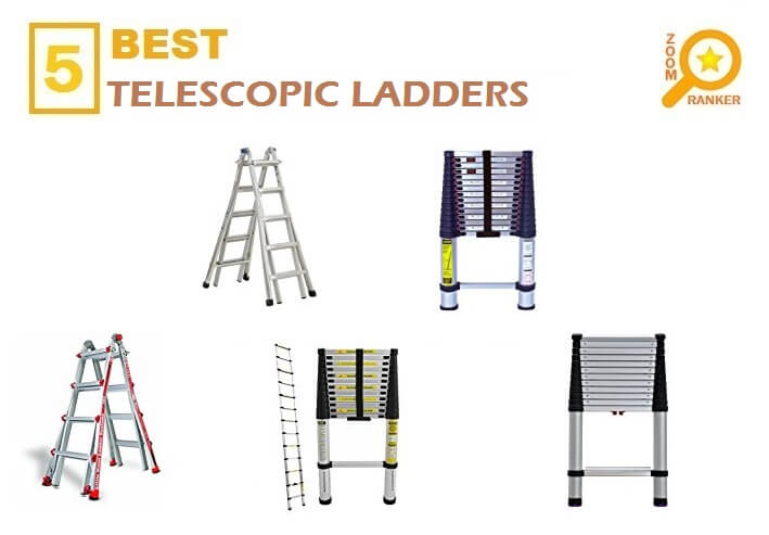 Reviews of the Best Affordable Telescoping Ladders to Buy 2019