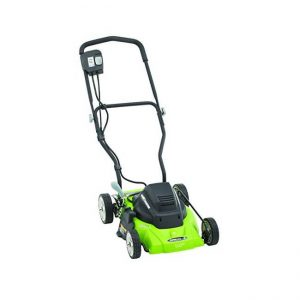 The Earthwise 50214 14-Inch 8-Amp Corded Electric Lawn Mower