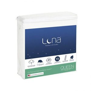 The Luna Premium Hypoallergenic Mattress Protector