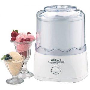 The Cuisinart ICE-20 Automatic 1-1/2-Quart Ice Cream Maker