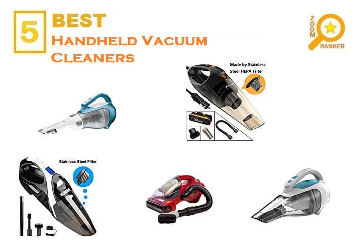 The Best Handheld Vacuum Cleaners for 2018- Vacuum Cleaners Reviews