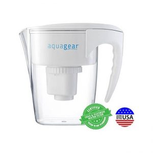The Aquagear Water Filter Pitcher