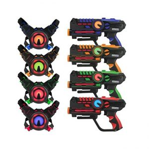 The Infrared Laser Tag Guns and Vests