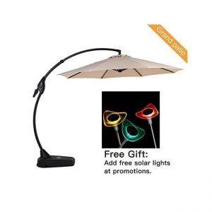 The Grand patio Deluxe Offset Umbrella