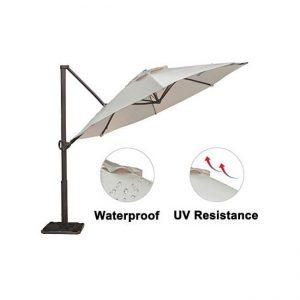 The Abba Patio Offset Cantilever Umbrella
