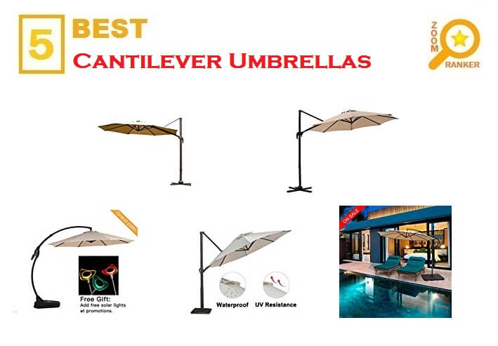 The Best Cantilever Umbrellas for 2018 - Patio Umbrellas Reviews