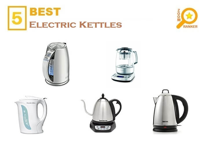 Reviews of the Best Affordable Electric Kettles to Buy 2019