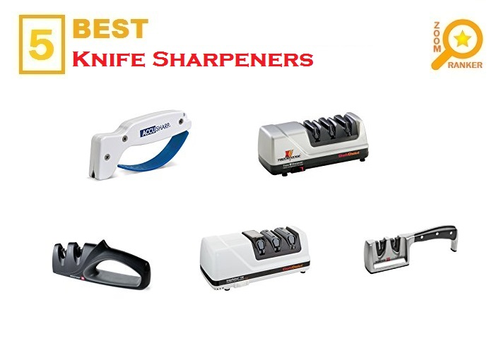 5 Best Knife Sharpeners for 2018 - Knife Sharpeners Review