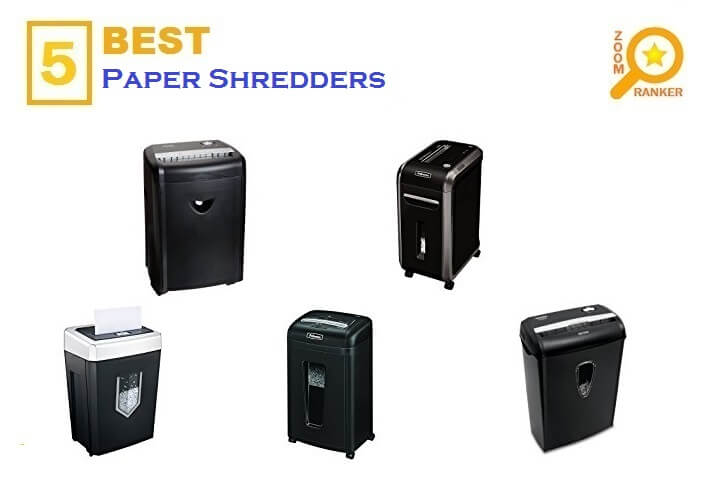 5 Best Paper Shredders for 2018 - Paper Shredder Reviews
