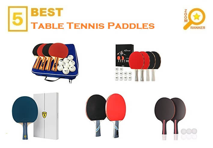 Best Table Tennis Paddles 2018 (Updated 2019)